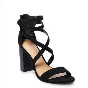 Black heels size 7 LC LAUREN CONRAD